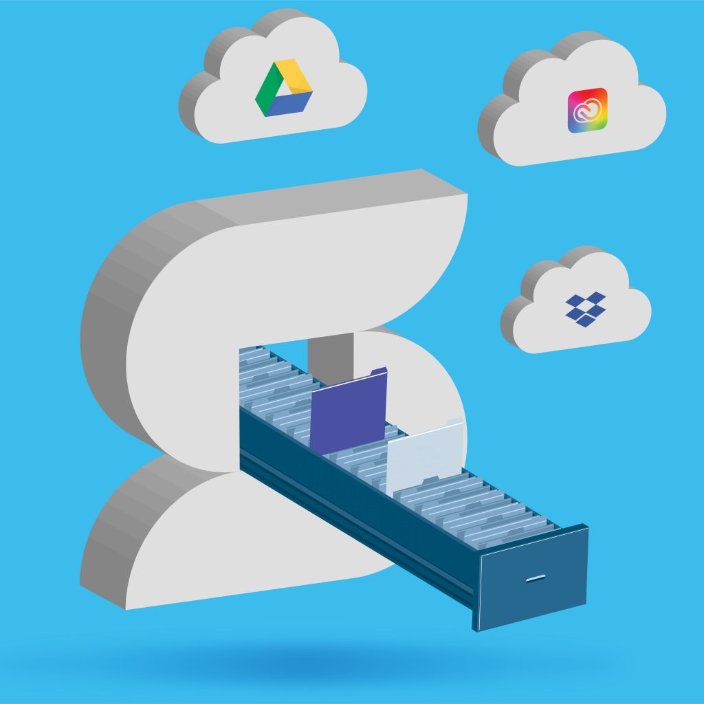 solution agency cloud storage graphic