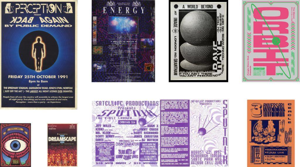 90s Rave Design
